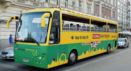 Vienna's 'unpopular' tourist buses