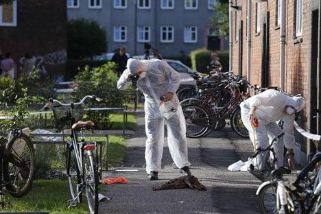 Man stabs his wife and baby in Copenhagen