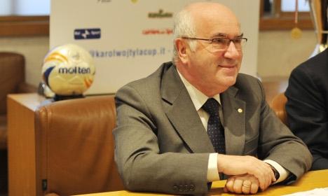 'Banana eater' row: Tavecchio made FA boss