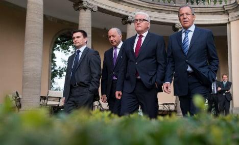 Steinmeier hosts 'frank' Ukraine summit