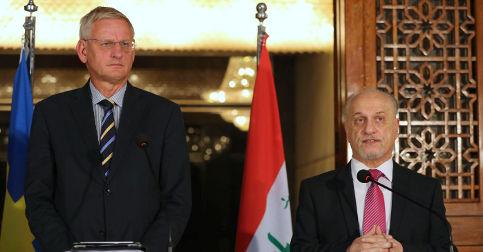 Bildt: 'We must increase efforts in Iraq'