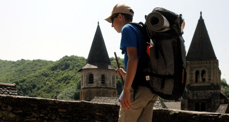 High-tech hikers 'hijack' Spain's pilgrim way