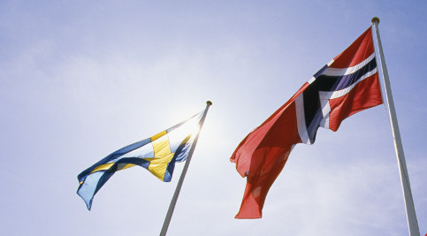 Sweden and Norway celebrate peace treaty