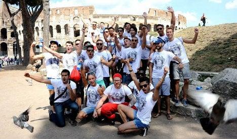 Rome seeks to be 'capital of homophobia fight'