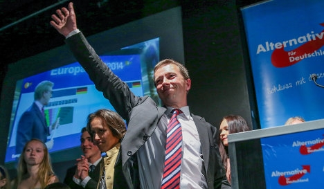 Anti-euro party to debut in state parliament