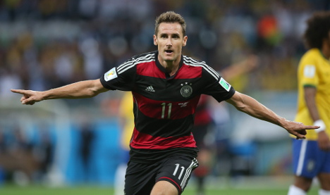 German team loses top World Cup scorer Klose