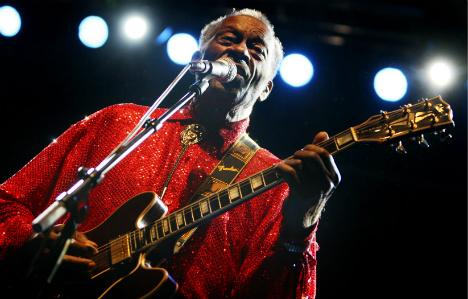 Chuck Berry wins 2014 Polar music prize