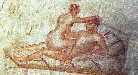 French tourist caught in Pompeii brothel romp