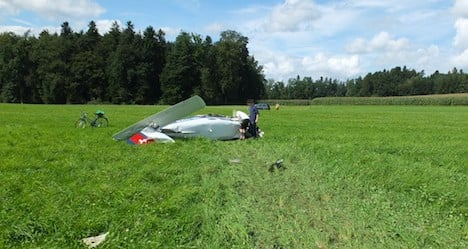 Seven injured after two light aircraft collide