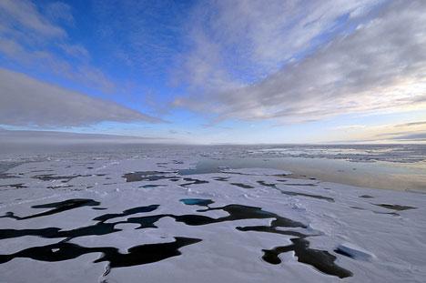 Canada to push Arctic claim in Denmark