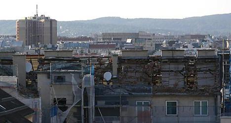 Gas explosion destroys Vienna rooftop apartment