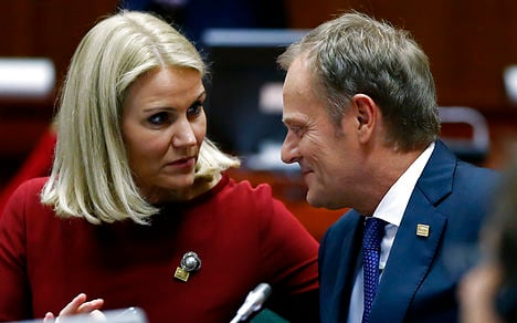 Thorning: Tusk the right pick for EU top job