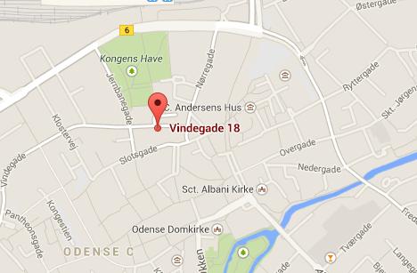 Bomb threat shut down central Odense