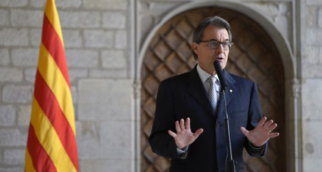 Catalan boss 'firm' on independence vote date