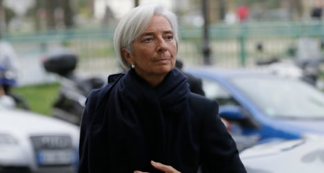 IMF chief Lagarde 'charged' in French probe