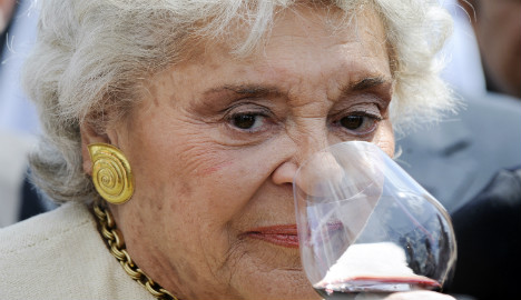 Wine doyenne de Rothschild dies aged 80