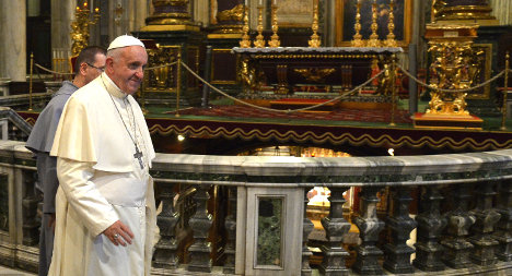 God will give me two or three more years: Pope