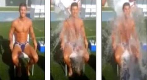 VIDEO: Ronaldo takes on ice bucket challenge