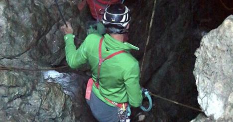 Explorer injured in Salzburg mountains