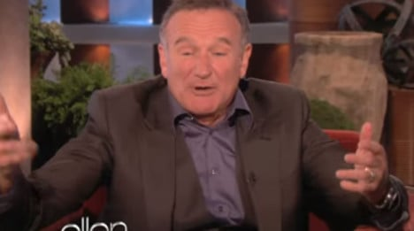 When Robin Williams made fun of the French