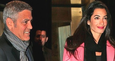 Clooney's fiancee turns down UN Gaza probe job
