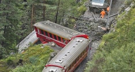 Clear-up operation follows train derailment