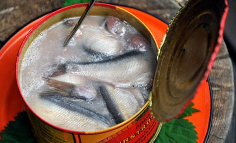 Swedes celebrate first day of smelly fish season