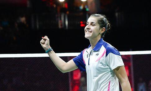 Spain's Marin stuns Li as Chen beats Lee