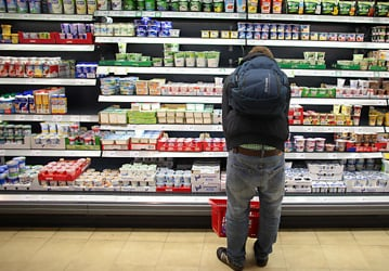 Austrians pay more for food than Germans