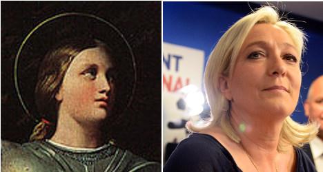 'Marine Le Pen is the 21st century Joan of Arc'