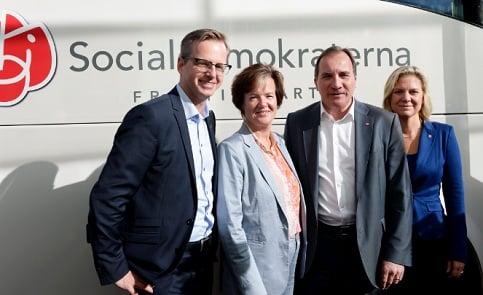 Löfven pledges billions to 'get railways working'