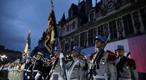 IN IMAGES: Paris marks liberation from Nazis