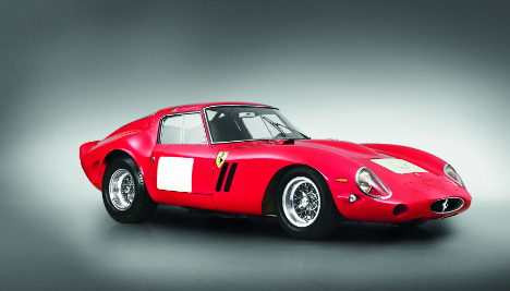 Red Ferrari sells for $38 million in LA auction