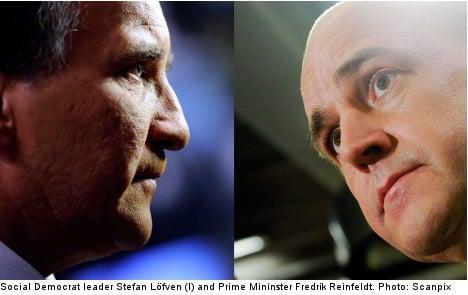 Reinfeldt better at handling a crisis: Poll