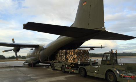 German aid planes to Iraq delayed