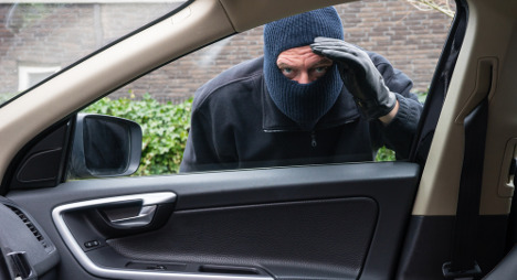 Criminals carjack unmarked police vehicle