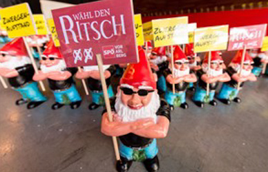 Gnome-napping spree shocks Austria's SPÖ
