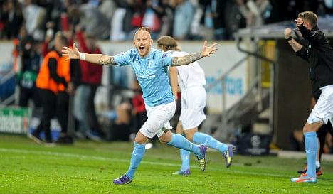 Malmö end 14-year Champions League wait