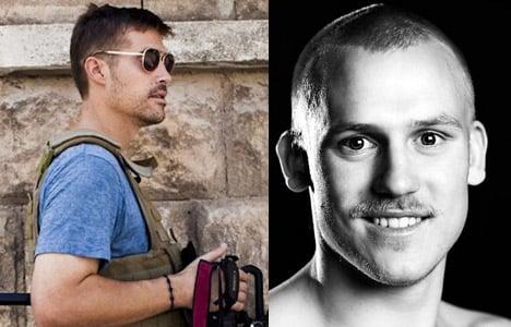 Danish journo conveyed Foley's final message