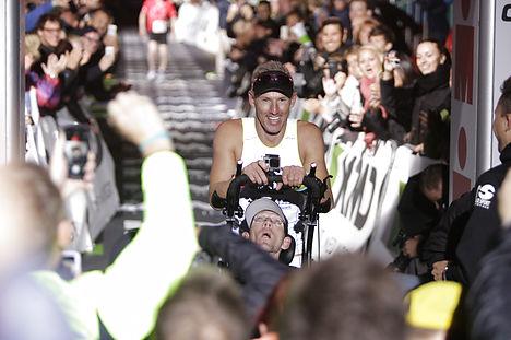 Twins run to history at Ironman Copenhagen