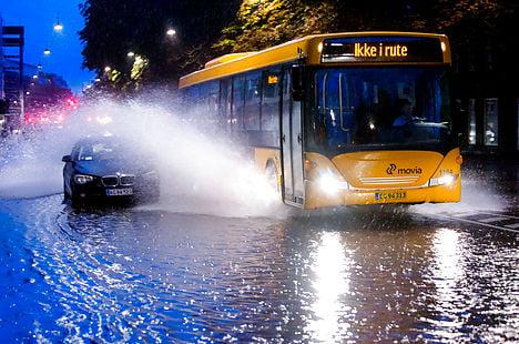 Copenhagen under water after downpour