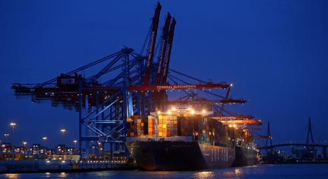 German economy puts on the squeeze