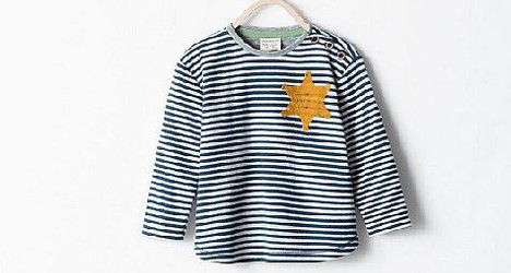Zara pulls plug on 'Holocaust shirt' for kids