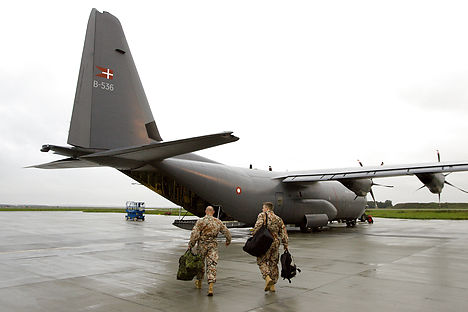 Denmark to transport weapons to Iraq