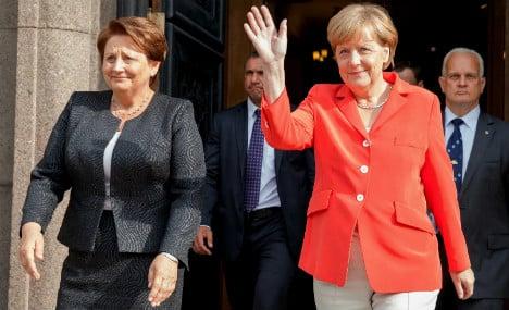 Merkel to visit Kiev after NATO Baltic summit