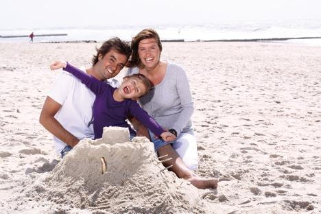 Sandcastles verboten on German beach
