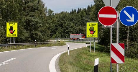 Quick-thinking trucker stops wrong-way driver