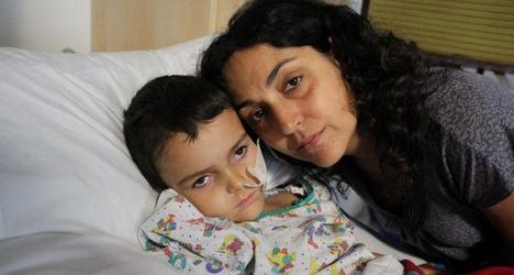 Brain tumour boy Ashya King found in Spain