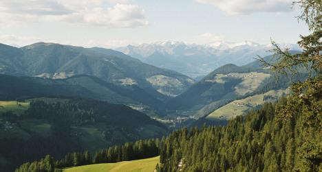 German tourist dies in mountain accident