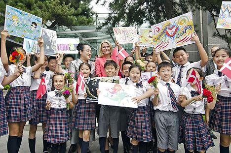 China 'loves' Helle Thorning-Schmidt